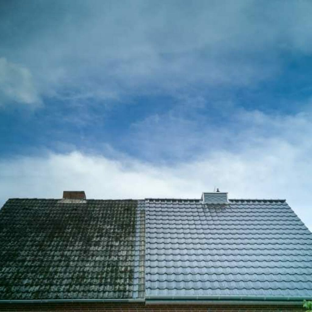 cary nc roof cleaning